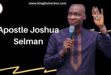 Apostle Joshua selman