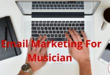 Email marketing for musician