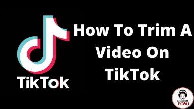 how to trim a tiktok video