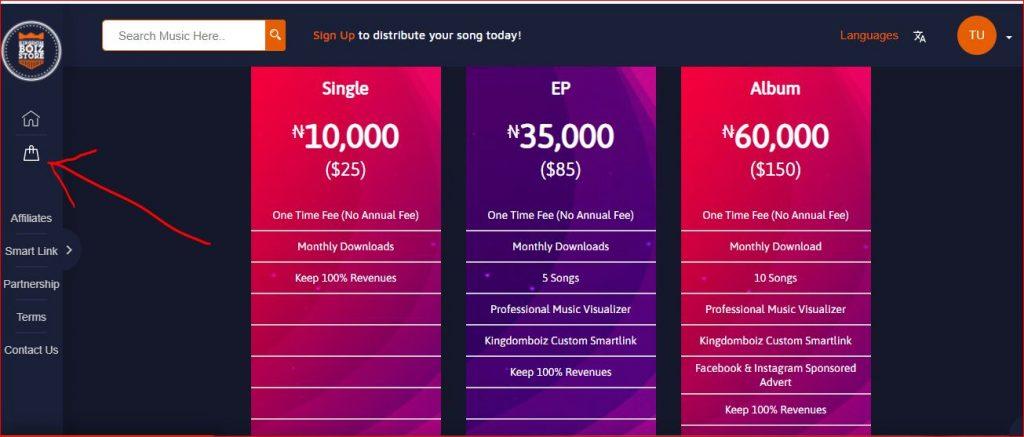 kingdomboiz store pricing page