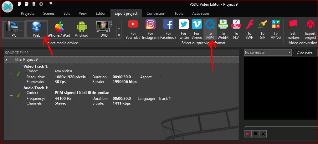 Tiktok videos with VSDC